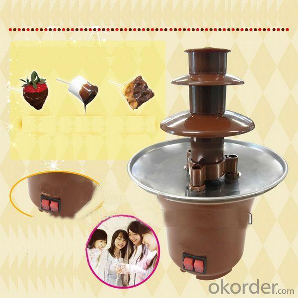 Oxgift Chocolate Fondue Fountain/Electric Chocolate Fondue Fountain