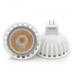 2014 New Design Ac220V Mr16 Cob 7W Led Spotlight Gu5.3 3000K Ce Rohs