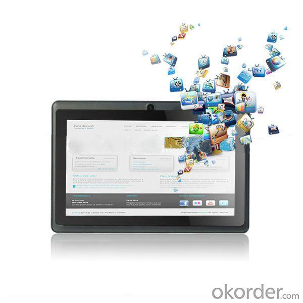 Allwinner A13 7 Inch Cheap Tablet 800*480 From China
