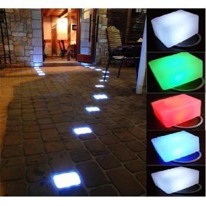 Led Concrete Plastic Cube Hard Lamp Garden Brick Pavement All Colors Manufacturer From China Factory