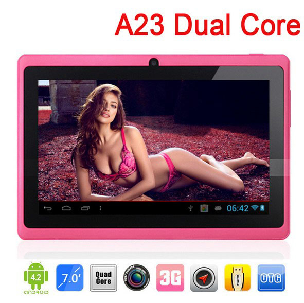 Dual Core Q88 Tablet Pc, Android 4.2 1.2Ghz Ram 512Mb Rom 4Gb Dual Camera Wifi