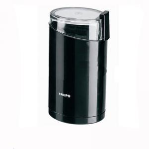 Black Electric Spice And Coffee Grinder With Stainless Steel Blades