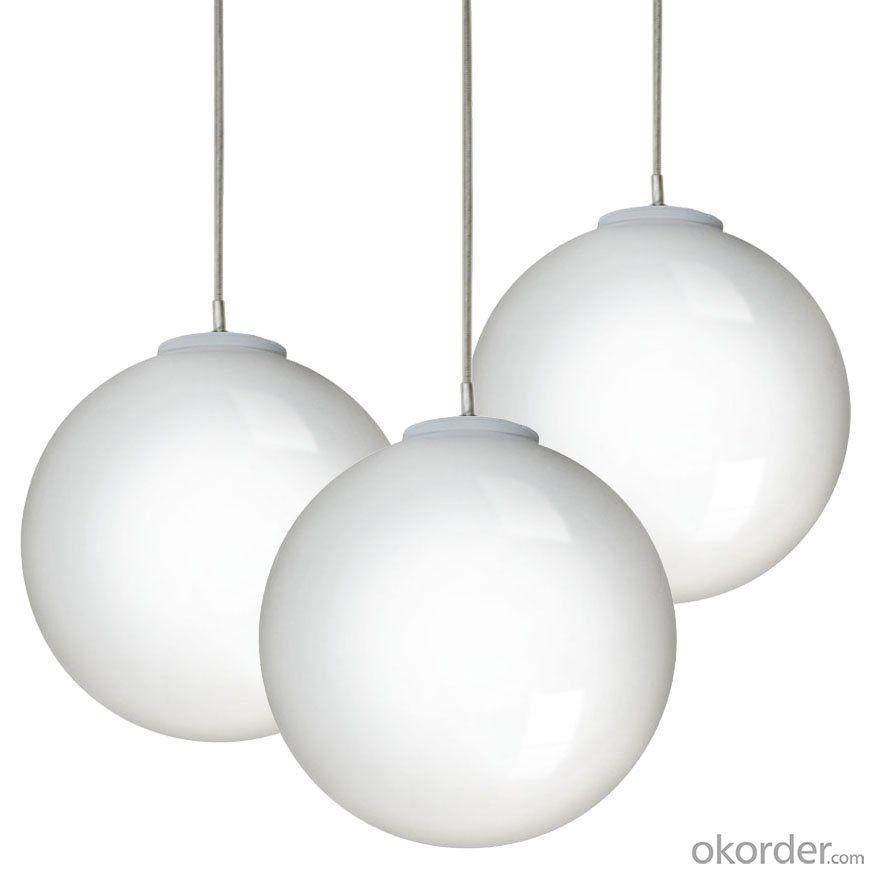 Pendant Chandelier Formed Out Of Round Led Spheres