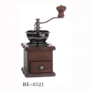 Classic Coffee From Maker Coffee Bean Grinder With Logs Base