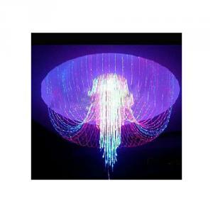 Dim 190Mm Beautiful Varied Fiber Optic Chandelier