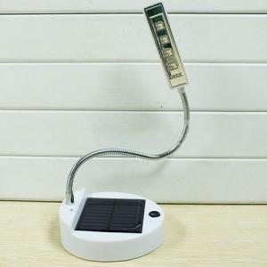 4 Led Buil-In Rechargeable Battery Solar Led Table Lamp