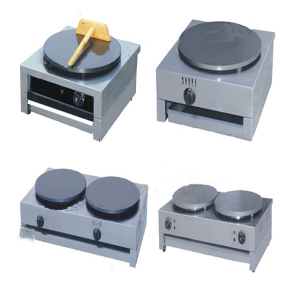 Gas and Electric Crepe Machine All Stainless Steel Shell
