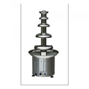 Large Stainless Steel Chocolate Fountain Commercial Use (110Cm High)