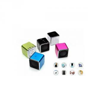 Music Angel Portable Mini Speaker Jh-Md07D With Fm/Download