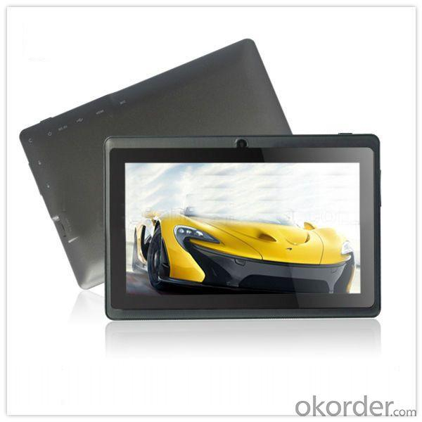 Allwinner A13 7 Inch Cheap Tablet 800*480 High Quality