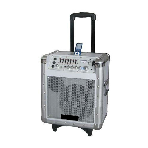 Trolley Speaker With Ipod/USB/Sd Slot A-8I