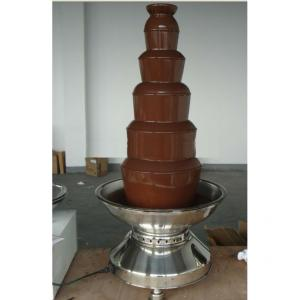6 Tiers100Cm Commercial Chocolate Fountain