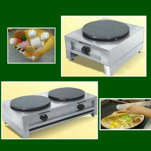 Gas Crepe Maker with Double Heads