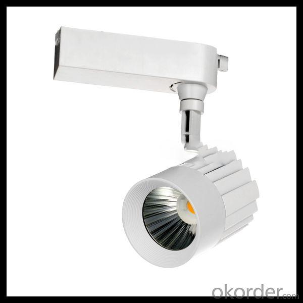 20W 30W Cob Led Track Rail Lighting 2014 Commercial Metal Halide Track Light Made In China