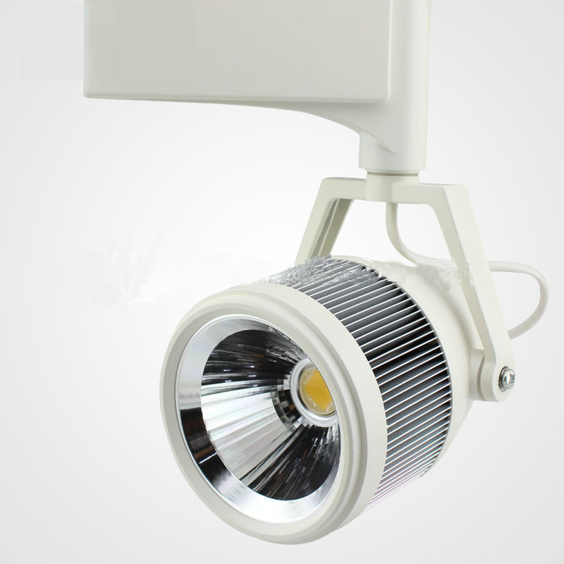 2014 New Design Cob 30W Led Track Light Adjustable