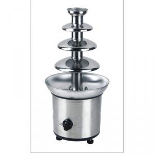 Stainless Steel Chocolate Fountain With S.S Base,Plastic Tower