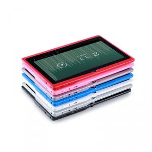 Bulk Wholesale Android Tablets 7 Inch Allwinner A13 Rom 4Gb Tablet Android Q88 Made  In China