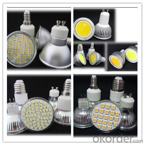 24 5050 Smd Gu10 Led Spot Bulb 6500K 3.6W 350-400Lm 220V