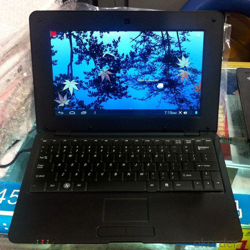 10 Inch Laptop VIA8880 Dual Core 1.5Ghz 1GB RAM 4GB ROM Android 4.2 WiFi Webcam HDMI
