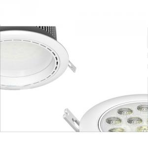 Free Sample 12w Super Heatsink Dimmable Led Downlight