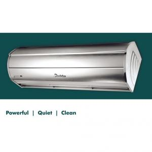 Aluminum Silver Finished Air Door Curtains
