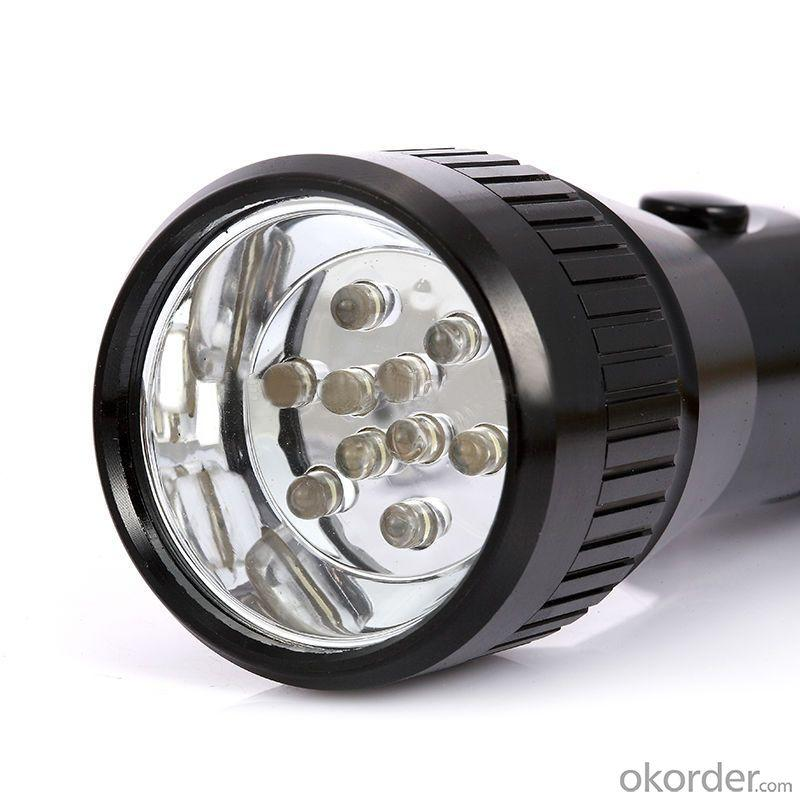 Newest Solar Led Rechargeable Flashlight With Solar Panel XSK-1001A