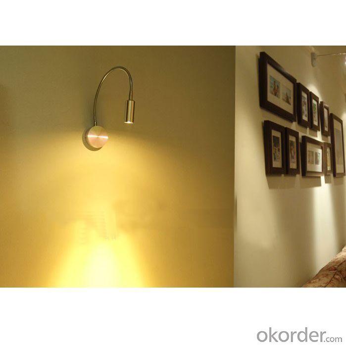 Led 3W Gooseneck Bedside Led Wall Light, In Big Stock