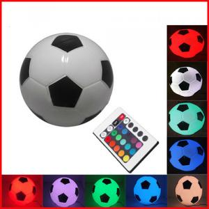 16 Colors Football Lighting Wireless/Cordless 1-2W Portable Remote Control Glass Led Rgb Mood Lights