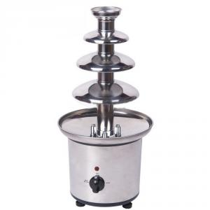 4 Layer 170W Chocolate Fondue Fountain With Ce