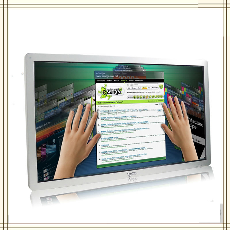 65Inch Wall Mount Touch Screen Monitor Hdmi With Wifi