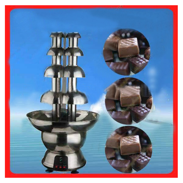 80 Easy Dismountable Large Fondue Fountain Chocolate