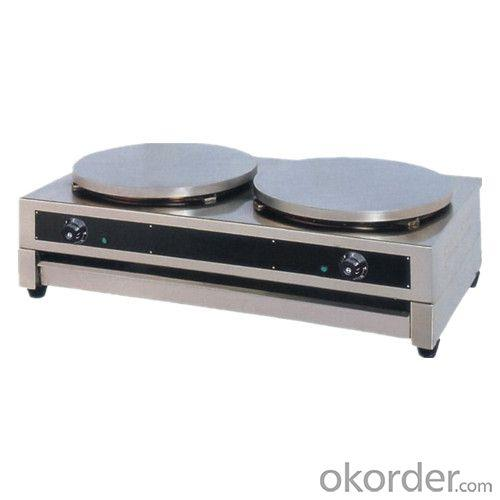 Double Head Crepe Maker Coated with Teflon