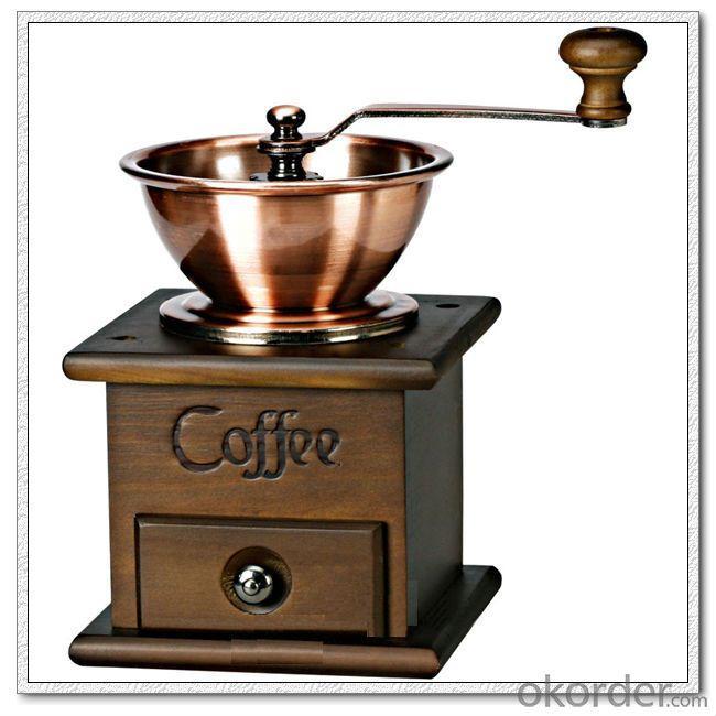 Vntb407 Yami Wooden Manual Coffee Bean Grinder