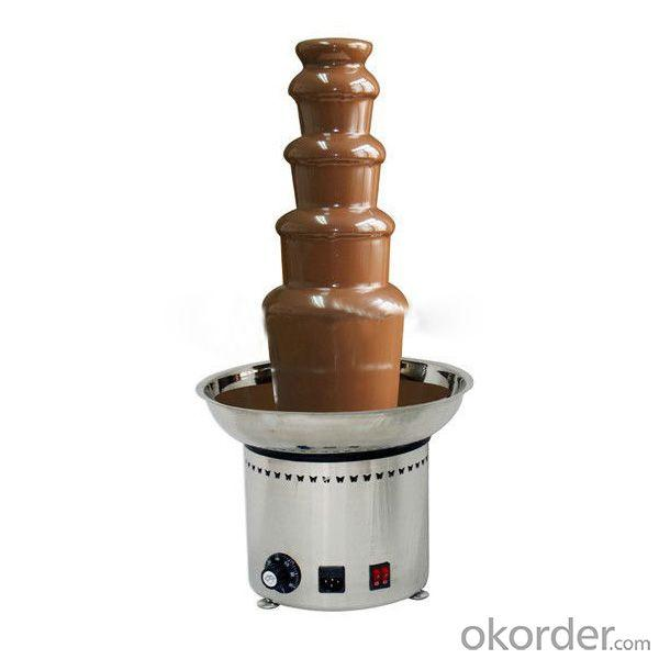 Professional Chocolate Fountain Maker With Ce Rohs