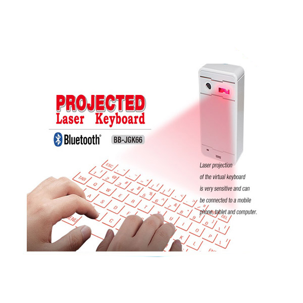 China Manufacturer Virtual USB Illuminated Wireless Bluetooth Laser Keyboard For Samsang For Iphone For Tablet For Notebook