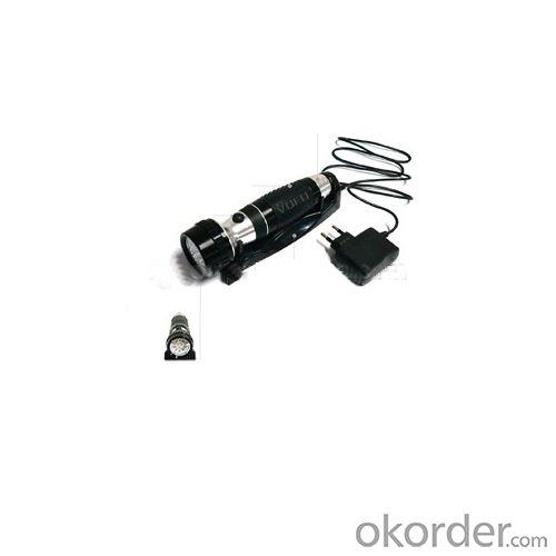Hotel Service Equipment Rechargeable Emergency Torch Light Hotel Flashlight