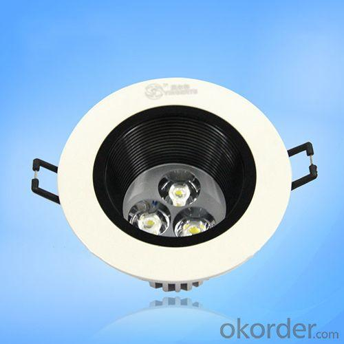Anti-Glare Led Ceiling Spotlight 3W High Power Led 100Lm/W