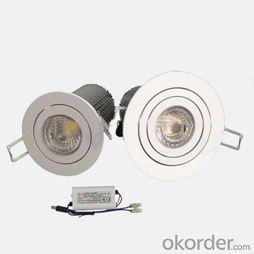 CREE 25/40/45D Dimmable 3 Years Warranty Cob Led Downlight 15w