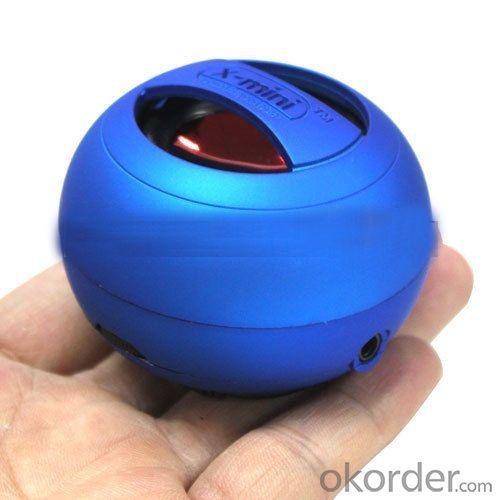 Factory Price 2013 New Arrive Hot Sale X Mini Speaker (5 Colors Available) With Retail Package