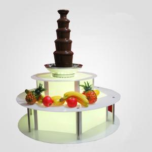 Chocolazi Ant-8130 Auger 7 Tiers 304 Stainless Steel Commercial Wholesale Commercial 7 Tier Chocolate Fountain