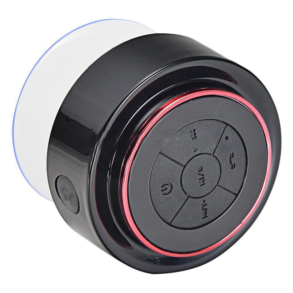 Shower Hands-Free Suction Cup In-Car Mic Ipx 7 Waterproof Bt Bluetooth Wireless Mini Speaker