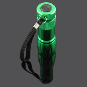Mini Colorful Cheap Aluminum 9 Cree LED Flashlighting for promotional gift