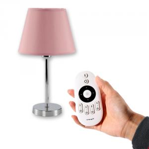 Ireless Remote Control Table Lamp With Dim And Cct