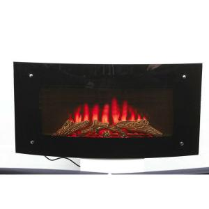 Electrical Fireplace with Luxury Decor Flame