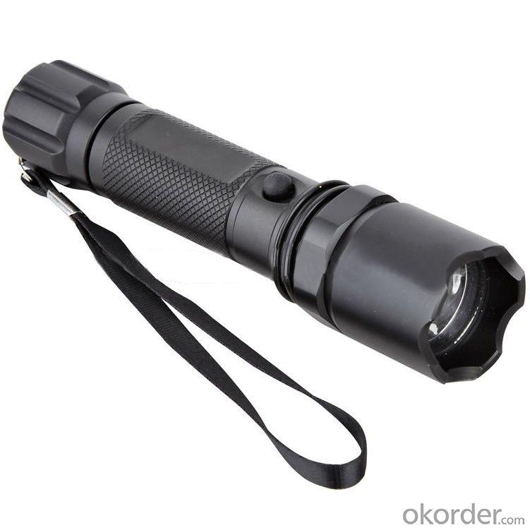 Flashlight Cree u2 Led 3800LM 3-Mode With 532nm Green Laser Defense Flashlight--FL03653