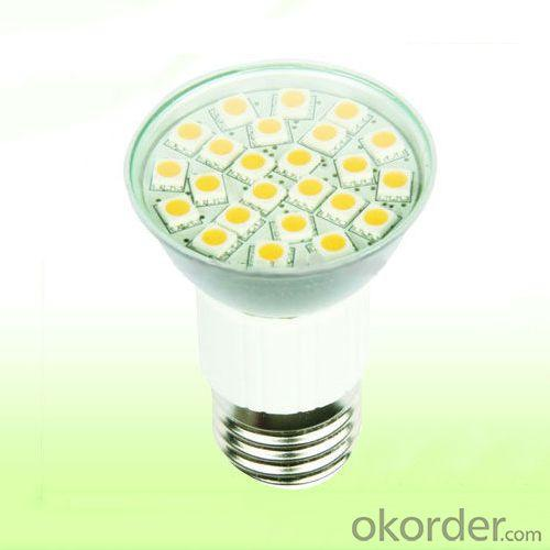 220V Led Lamp With 24Pcs 5050Smd E27 Led Light