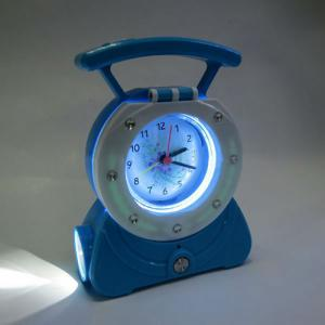 Led Rechargeable Reading Lamp With Clock