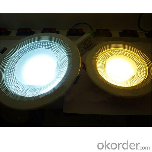 New Product 8W/10W/15W/20W/30W Warm White COB LED Downlight Made in China