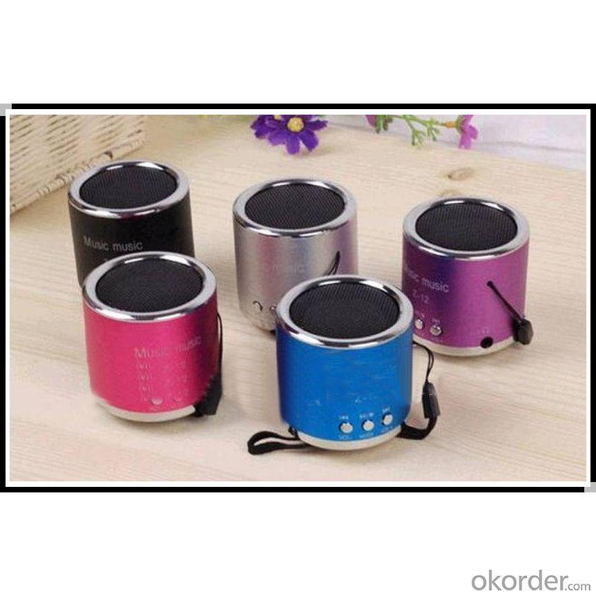 2014 Hot Sale Portable Speaker, Tf Card Speaker,Mini Speaker