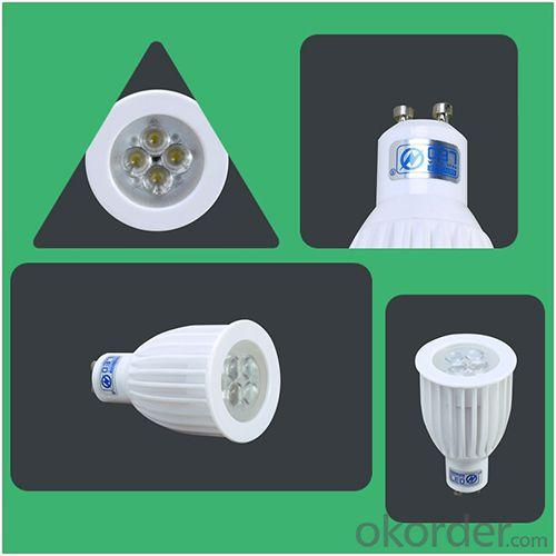 Gu10 Led Dimmable High Power 8W Led Spot Light With Ceramic Housing